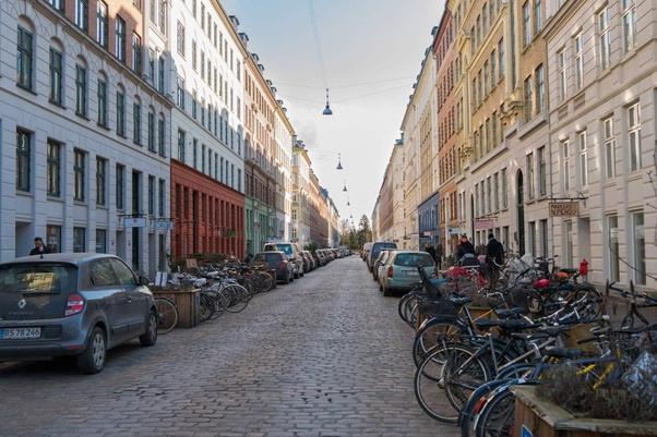 Denmark - Budaya yang kental dengan sepeda